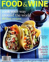 Food and wine cover